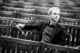 Czech bassoon player and conductor Martin Petrák. / ?eský fagotista a dirigent Martin Petrák.